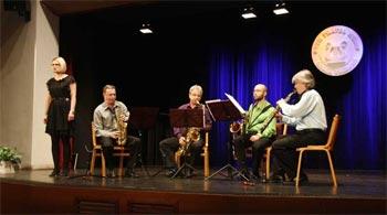 Saxofonové kvarteto v Malé scéně